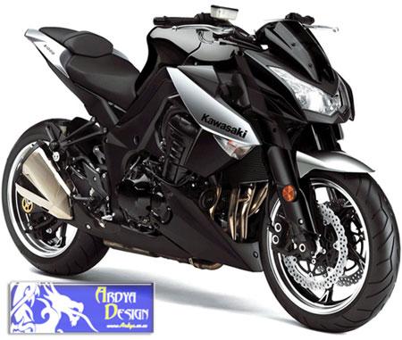 Kawasaki-Z1000-2010