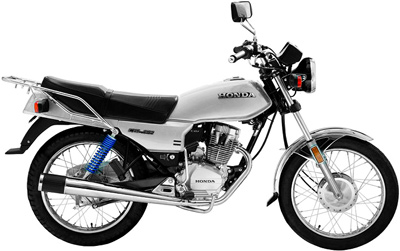 Honda CGL125 Tool SIlver